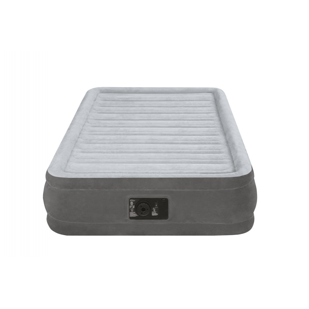 надуваеми матраци интекс Intex Надуваем матрак Comfort с вградена помпа единичен 191х99х33  надуваеми матраци интекс