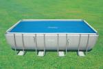 Intex Изотермично покривало 150g/m2 за правоъгълен басейн 732х366 см.