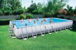 Bestway басейн с тръбна конструкция Power Steel™ правоъгълен 732х366х132 см.