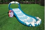 Intex надуваем воден център Surf 'N Slide със 2бр. сърф 442x168x163 см.