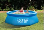 Intex басейн с надуваем ринг Easy Set® кръгъл Ø244x76 см.