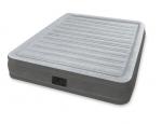 Intex Надуваем матрак Queen Comfort с вградена помпа двоен 203х152х33 см.