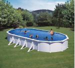 GRE Сглобяем басейн с метални стени Atlantis овален 1000x550x132см.