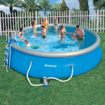 Bestway басейн с надуваем ринг Fast Set™ кръгъл Ø549x122 см.