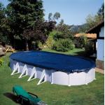 Gre Покривало 100g/m2 за овален басейн 1000x550см.
