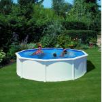 GRE Сглобяем басейн с метални стени Fidji кръгъл Ø550x120см.