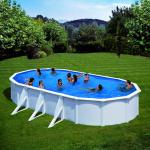 GRE Сглобяем басейн с метални стени Fidji овален 730x375x120см.
