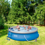 Bestway басейн с надуваем ринг Fast Set кръгъл Ø366х91 см.