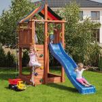 Детски дървени площадки и къщи