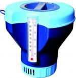 Gre Плуващ дозатор за таблетки с термометър 200гр.