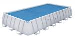 Bestway изотермично покривало 150g/m2 за правоъгълен басейн 732x366x132cм.
