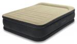 Intex Надуваем матрак Premium Comfort с вградена помпа 203х152х46 см.