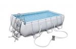 Bestway басейн с тръбна конструкция Power Steel правоъгълен 404x201x100см.