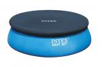 Intex Покривало за кръгъл басейн с надуваем борд Ø457см.