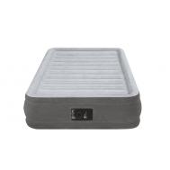 Intex Надуваем матрак Comfort с вградена помпа единичен 191х99х33 см.
