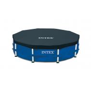 Intex Покривало за кръгъл басейн с тръбна конструкция Ø457см.