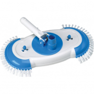 Gre Вакуумна глава за почистване на дъното на басейн с пясъчен филтър овална