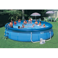 Intex басейн с надуваем ринг Easy Set® кръгъл Ø549x107 см.