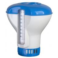 Gre Плуващ дозатор с термометър за таблетки 20гр.