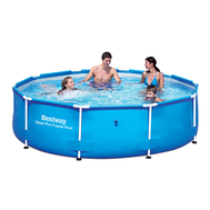 Bestway басейн с тръбна конструкция Steel Pro кръгъл Ø305х76 см.