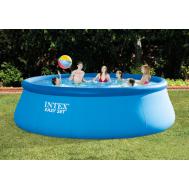 Intex басейн с надуваем ринг Easy Set® кръгъл Ø457x122 см.