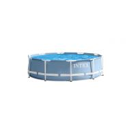Intex басейн с тръбна конструкция Prism Frame кръгъл 305х76 см.