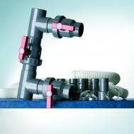 Gre Байпас за свързване на термопомпа към филтрираща система