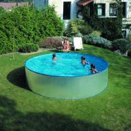 Gre Сглобаем басейн с метални стени Tenerife кръгъл Ø350х90 см.