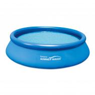 Summer Waves басейн с надуваем борд Quick Set кръгъл 366x76см.
