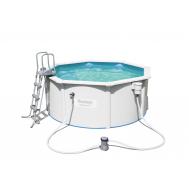 Bestway басейн с метални стени Hydrium кръгъл 300х120 см.