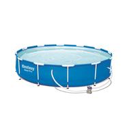 Bestway сглобяем басейн Steel Pro кръгъл ф366см/76см с помпа