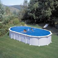 Gre сглобяем басейн с метална стена Haiti овал 730x375h132см