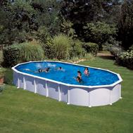 Gre сглобяем басейн с метална стена Haiti овал 610x375xh132см