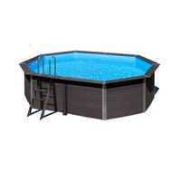 Gre басейн от композитни панели AvantGarde oвален 524x386хh124см