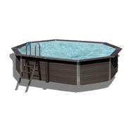 Gre  басейн от композитни панели Avantgarde овален 664x386хh124см
