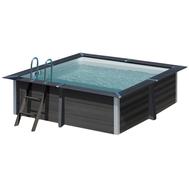 Gre басейн от композитни панели Avantgarde квадратен 326x326хh96см