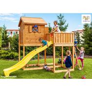 Fungoo My Side детска площадка с пързалка и къща
