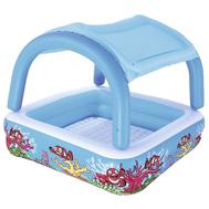 Bestway бебешки надуваем басейн със сенник 147/147см
