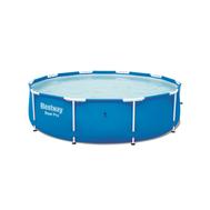 Bestway сглобяем басейн  Steel Pro кръгъл с бели стойки Ø305/76см