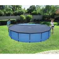 Bestway покривало за басейни Steel Pro и Hydrium кръгъл 457см