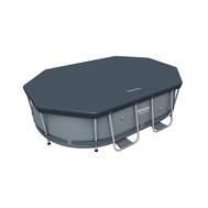 Bestway покривало за овален басейн с тръбна конструкция 300/200см