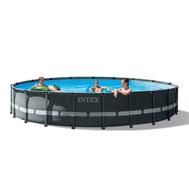 Intex сглобяем басейн с тръбна конструкция ULTRA XTR кръгъл Ø610смx122см.