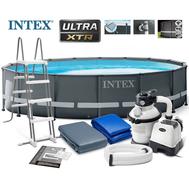 Intex басейн с тръбна конструкция ULTRA XTR кръгъл Ø488x122см.