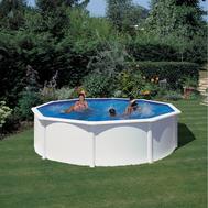 GRE Сглобяем басейн с метални стени Fidji кръгъл Ø550x132см.