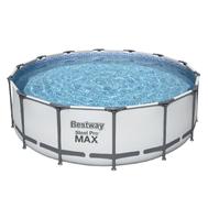 Bestway Сглобяем басейн с тръбна конструкция Steel Pro Max  кръгъл Ø488смх122см.