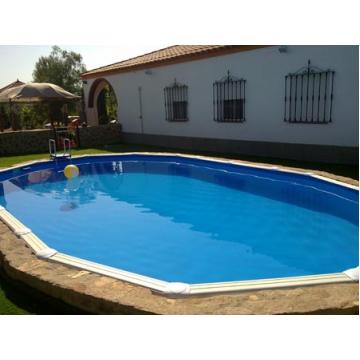 GRE Сглобяем басейн с метални стени Fidji овален 610x375x120см.