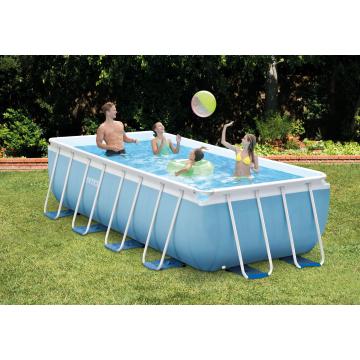 Intex басейн с тръбна конструкция Prism Frame™ правоъгълен  400x200x100см.