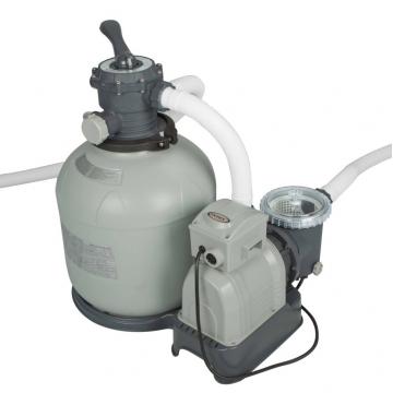 Intex филтрираща система помпа с пясъчен филтър 4 м3/ч
