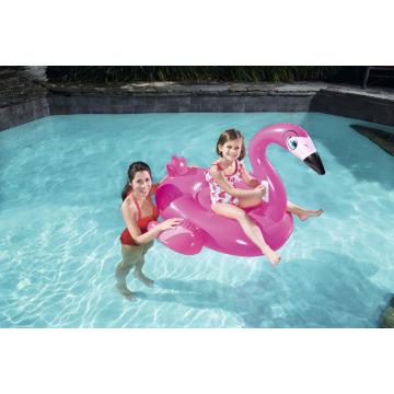 Bestway надуваемо фламинго розово 135х119см.
