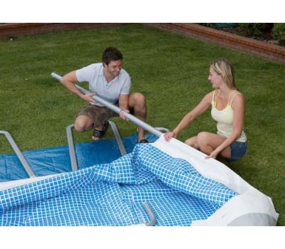 Intex басейн с тръбна конструкция Ultra Frame™ правоъгълен 975х488x132см